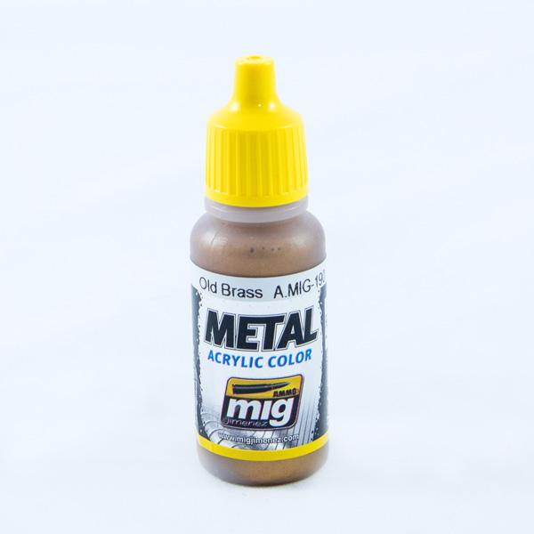 ammo mig old brass metallic