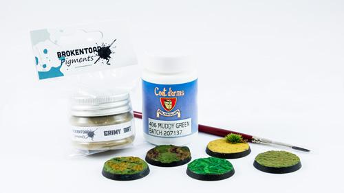 textured paint mud pigment brokentoad asset drop monthly box