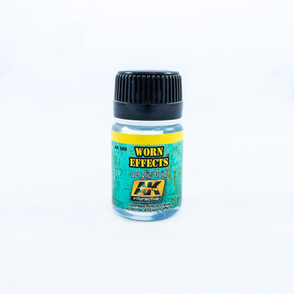 AK interactive worn effects fluid chipping