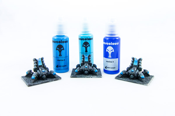 warcolours miniature paints