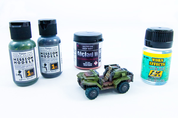 Mission models premium hobby paint