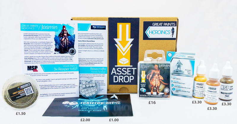 Asset Drop great paints heroines box