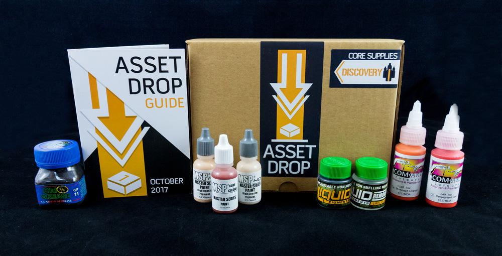 october asset drop discovery box