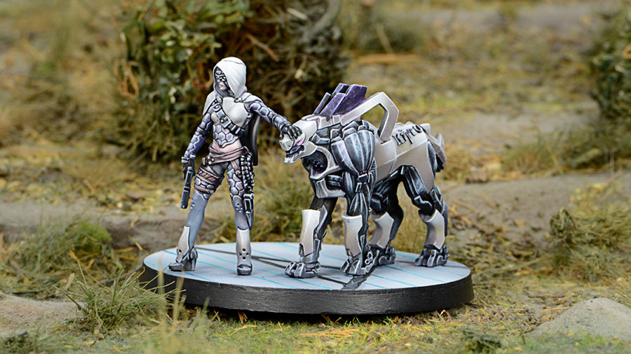 andromeda infinity the game painted