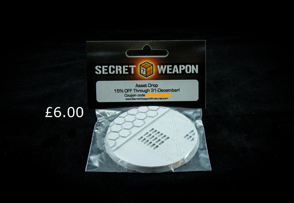 secret weapon warp core base asset drop
