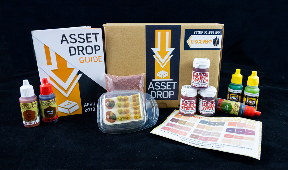 april asset drop discovery box