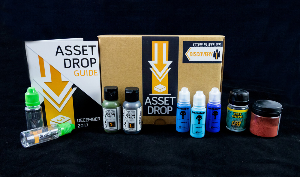 december asset drop discovery box