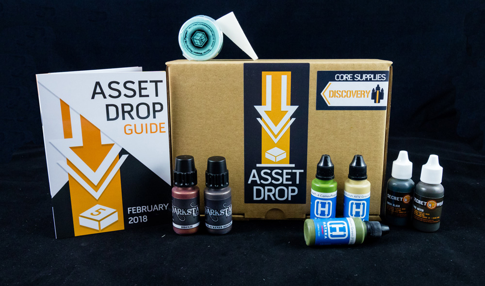 february asset drop discovery box