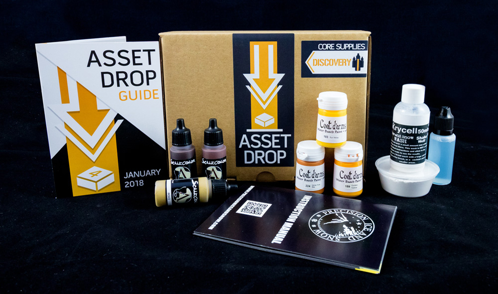 january asset drop discovery box