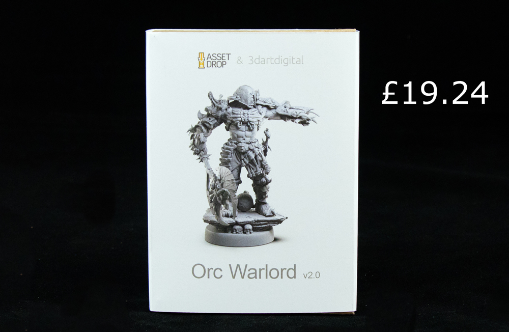 3d Art Digital the warlord asset drop monsters box