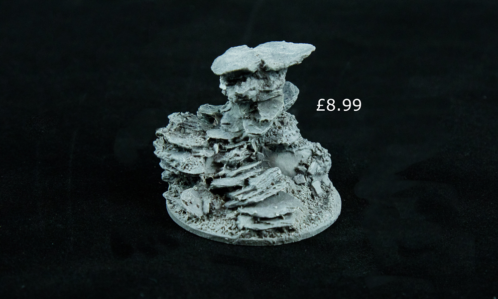 serious play resin stone base asset drop