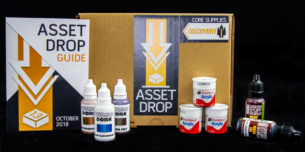 asset drop october discovery box turbo dork colourshift paints