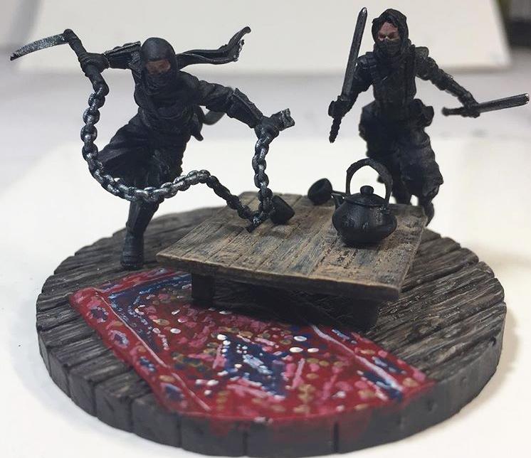 bushido miniatures asset drop heroines