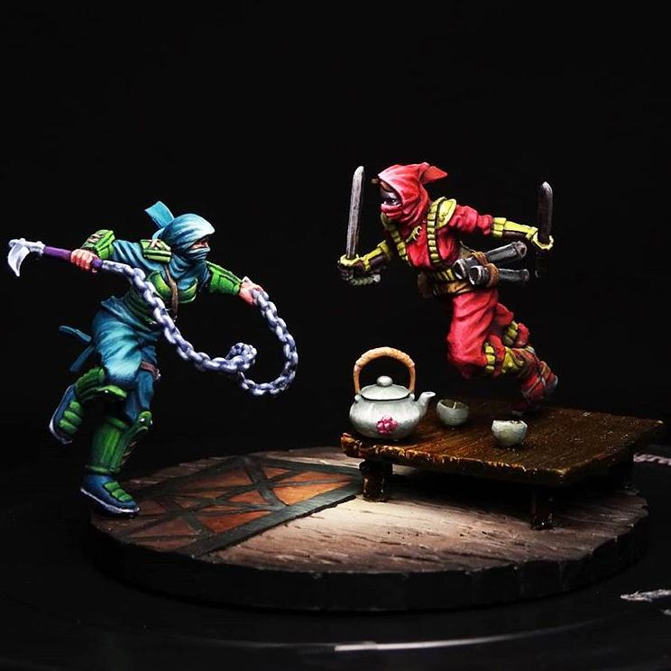 bushido miniatures asset drop heroines rin bikou