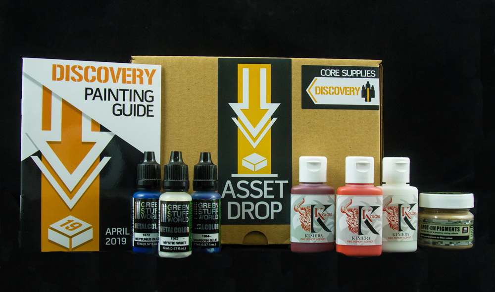 april asset drop discovery box