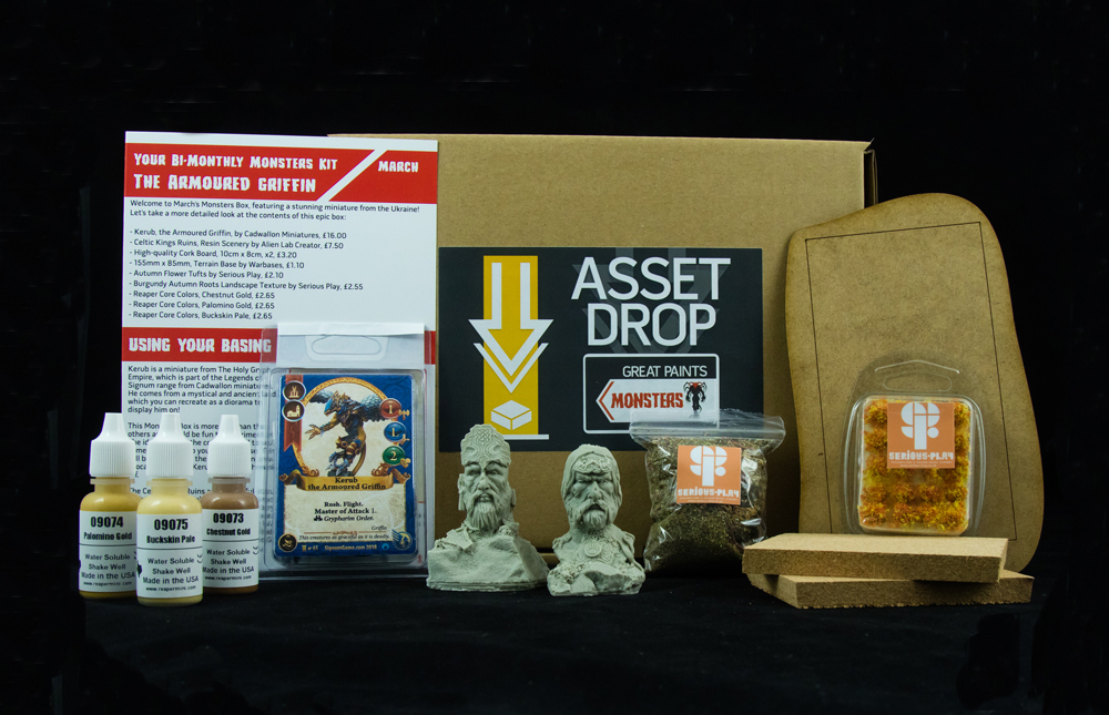 Asset Drop march monsters box