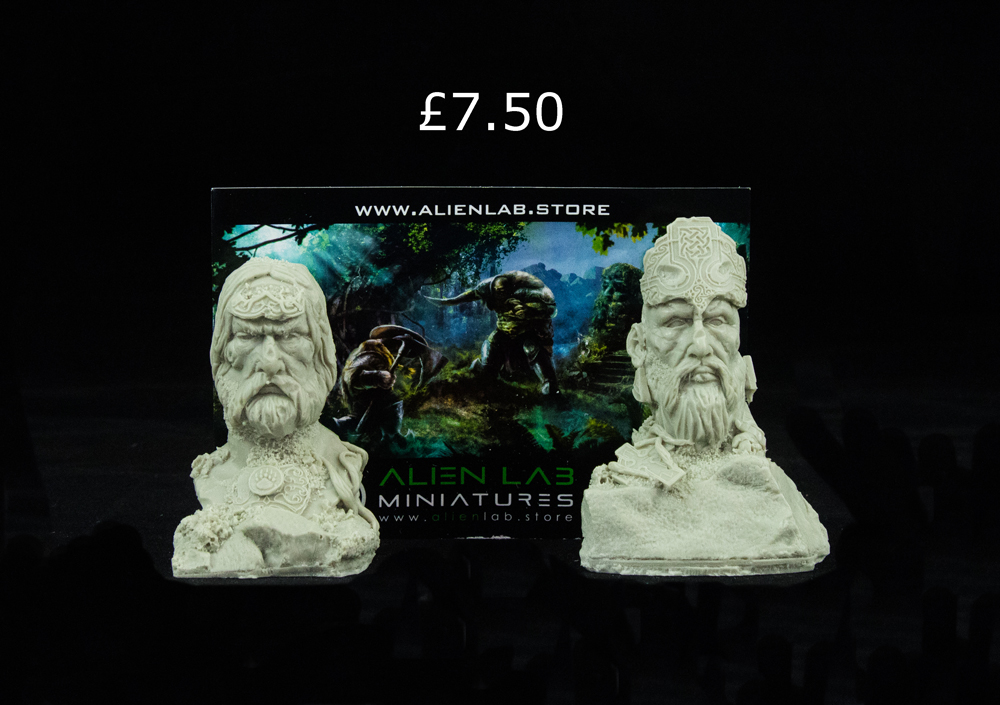celtic kings statues alien lab asset drop monsters