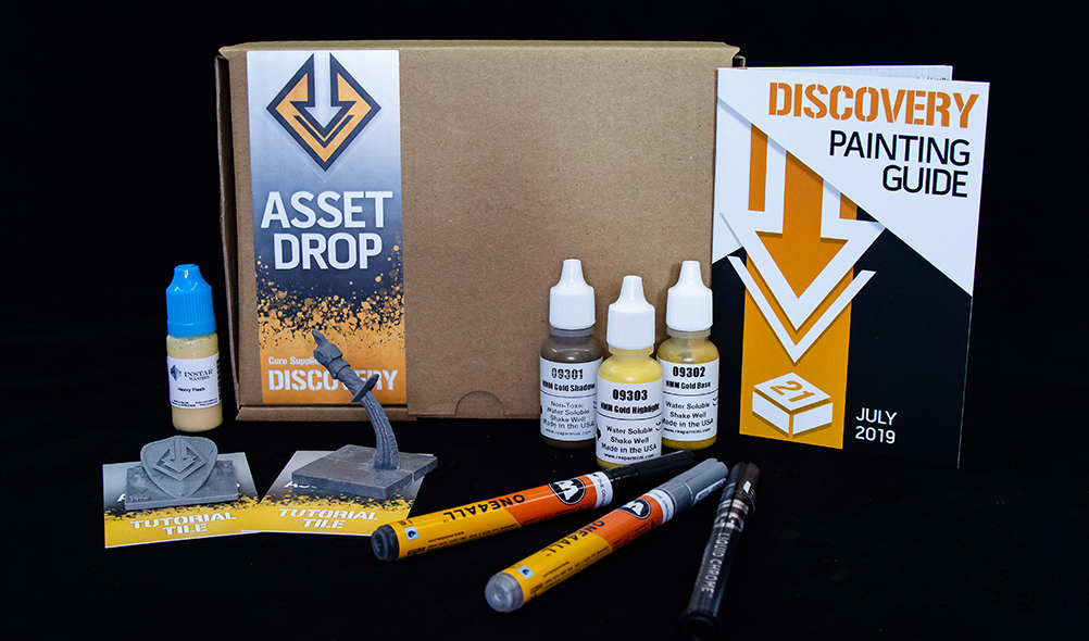 july asset drop discovery box