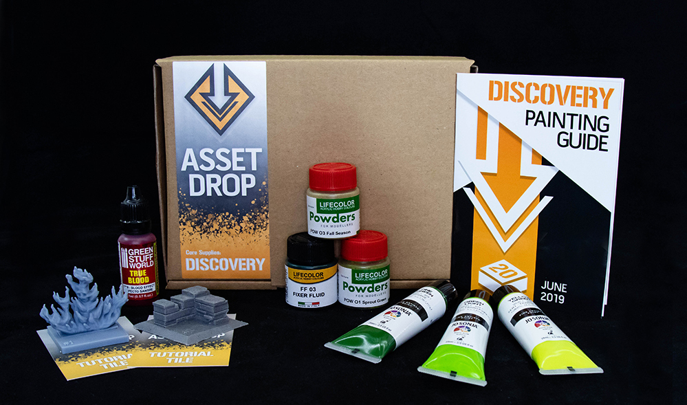 june asset drop discovery box