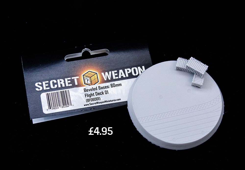 secret weapon flight deck base 60mm asset drop monthly