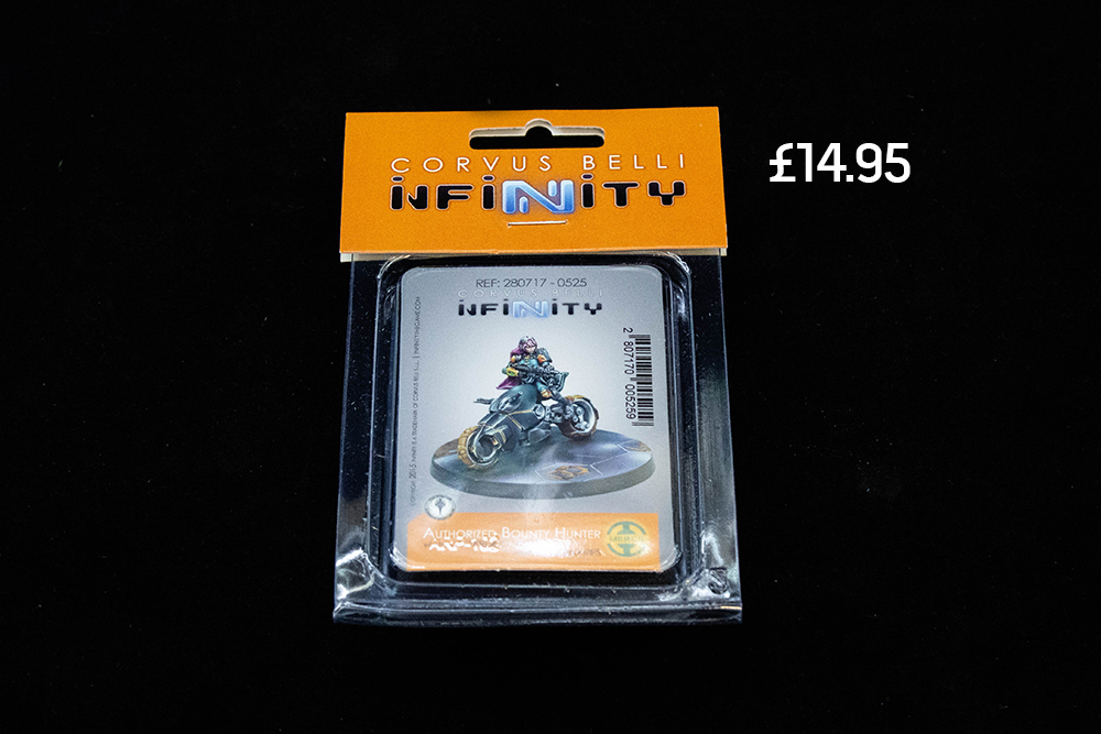 infinity the game bounty hunter miniatures asset drop heroines