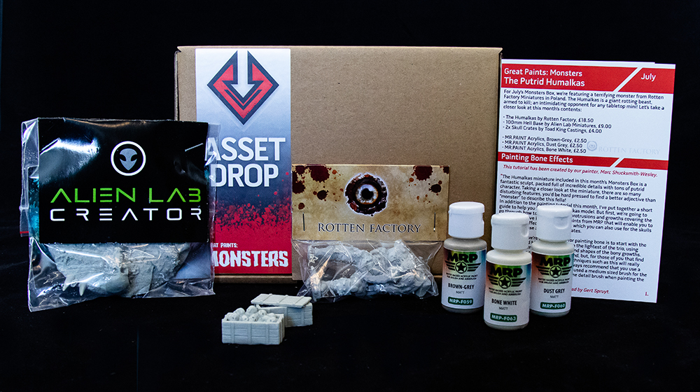 Asset Drop july monsters box