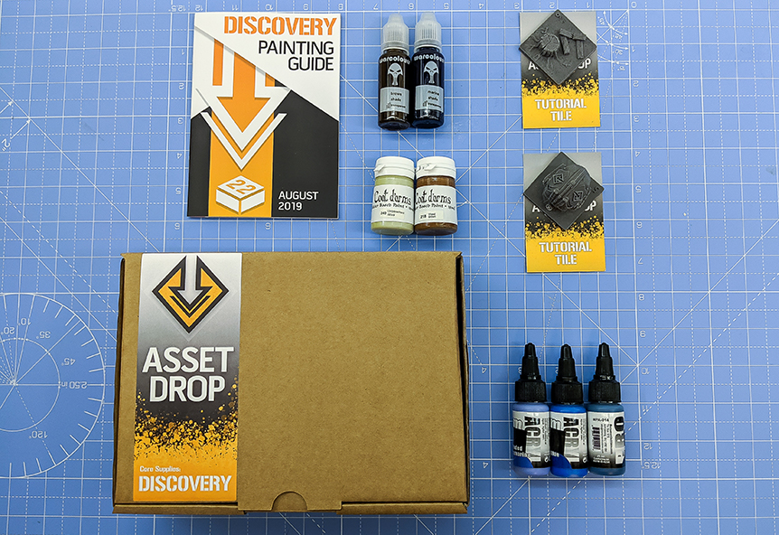 asset drop august discovery box creature caster pro-acryl