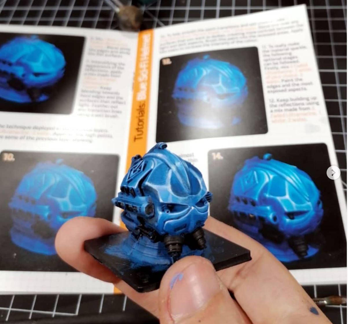 Asset Drop Tutorial Tile Sci-Fi Helmet