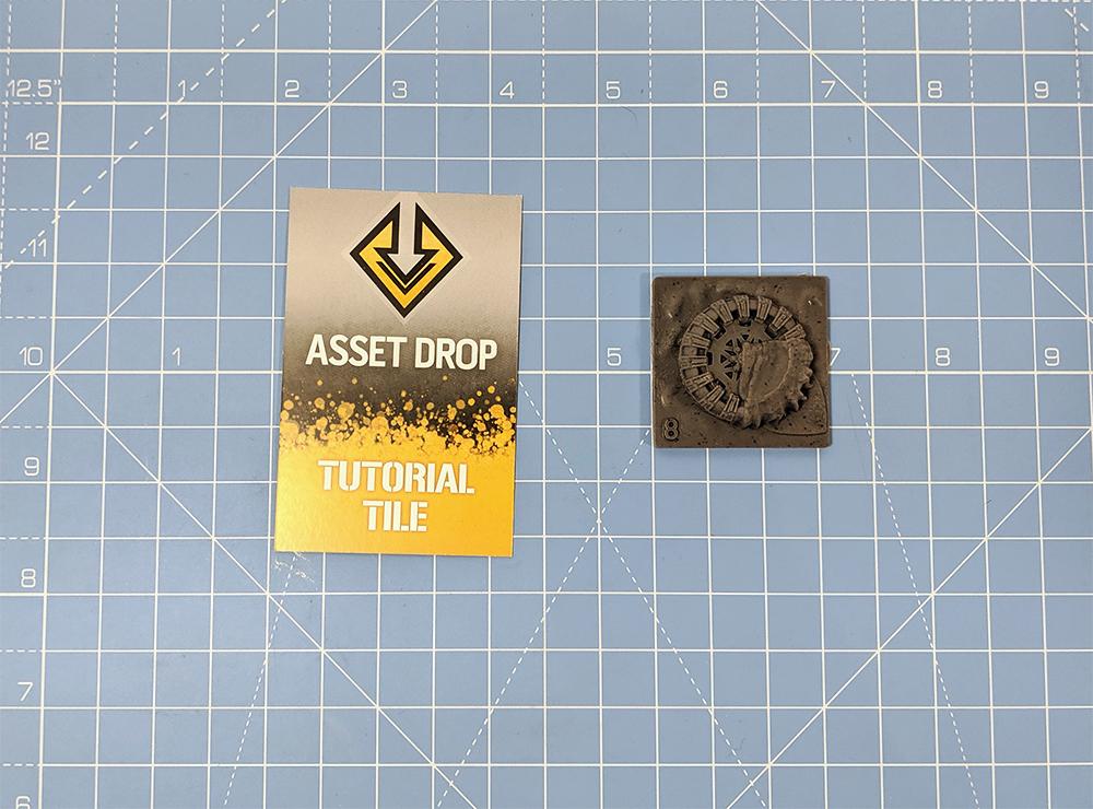 asset drop tutorial tile abandoned tire