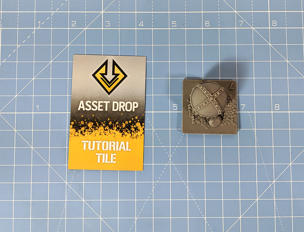 asset drop discovery tutorial tile
