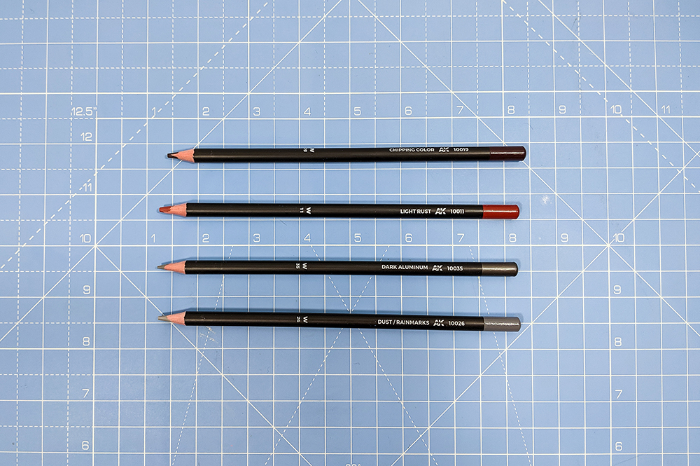 ak interactive weathering pencils