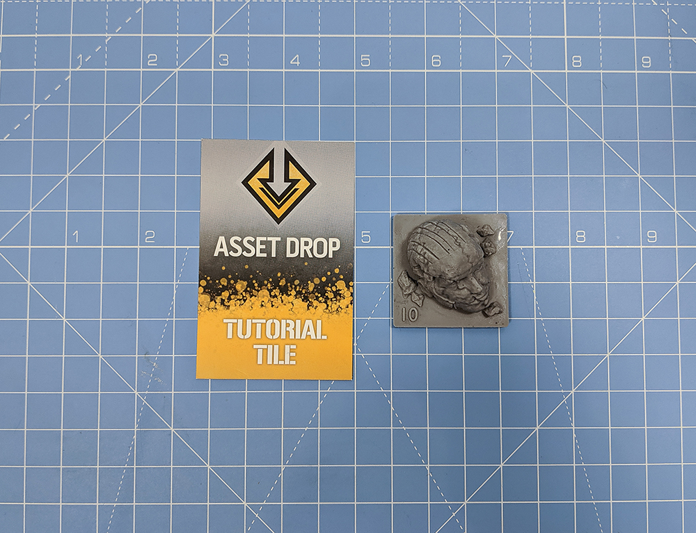 asset drop discovery tutorial tile marble head