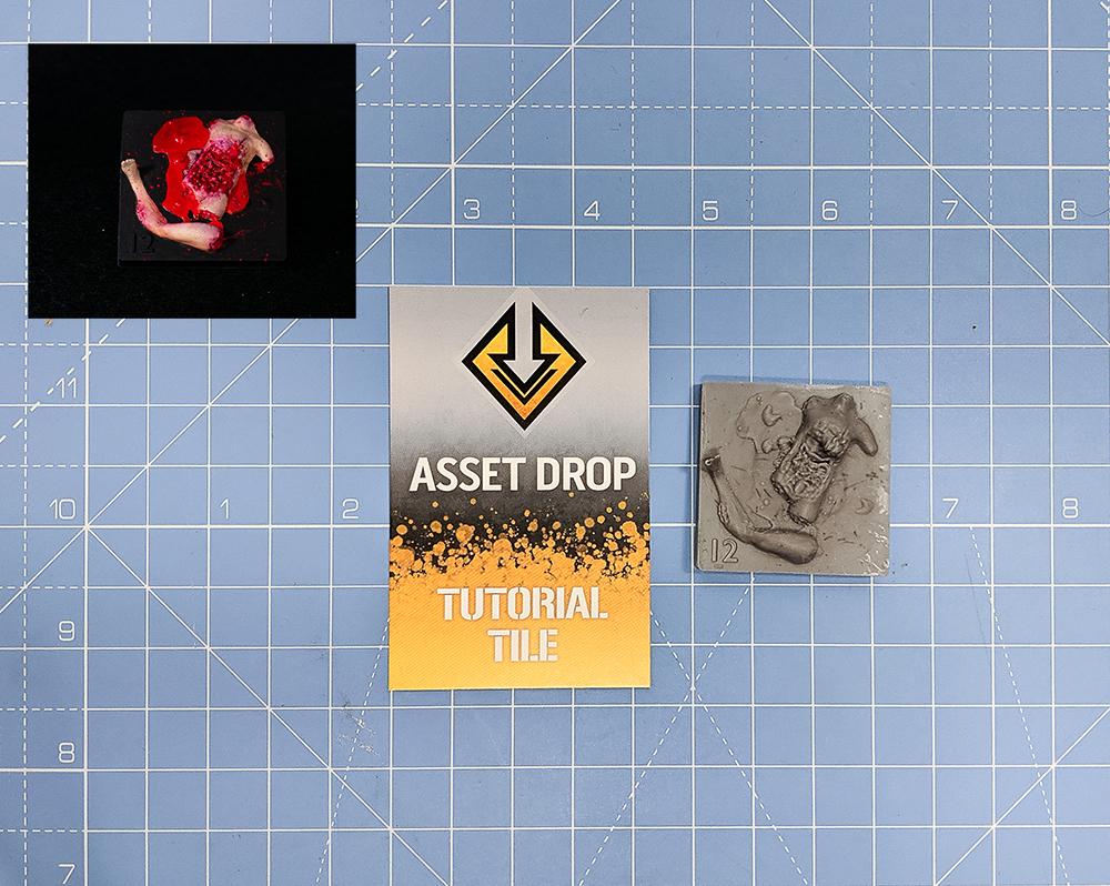 asset drop tutorial tile gore pile