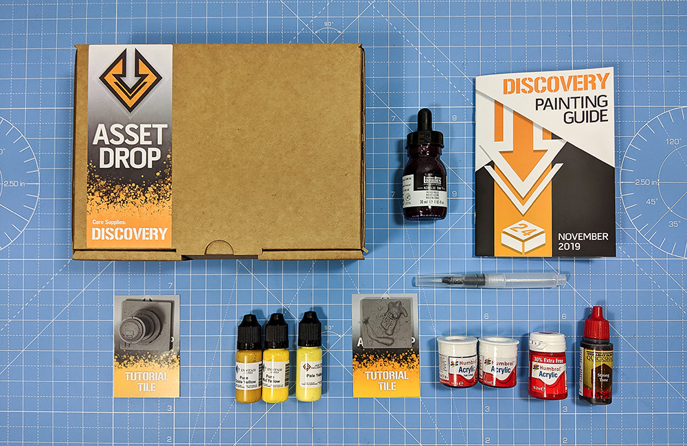 nov asset drop discovery box