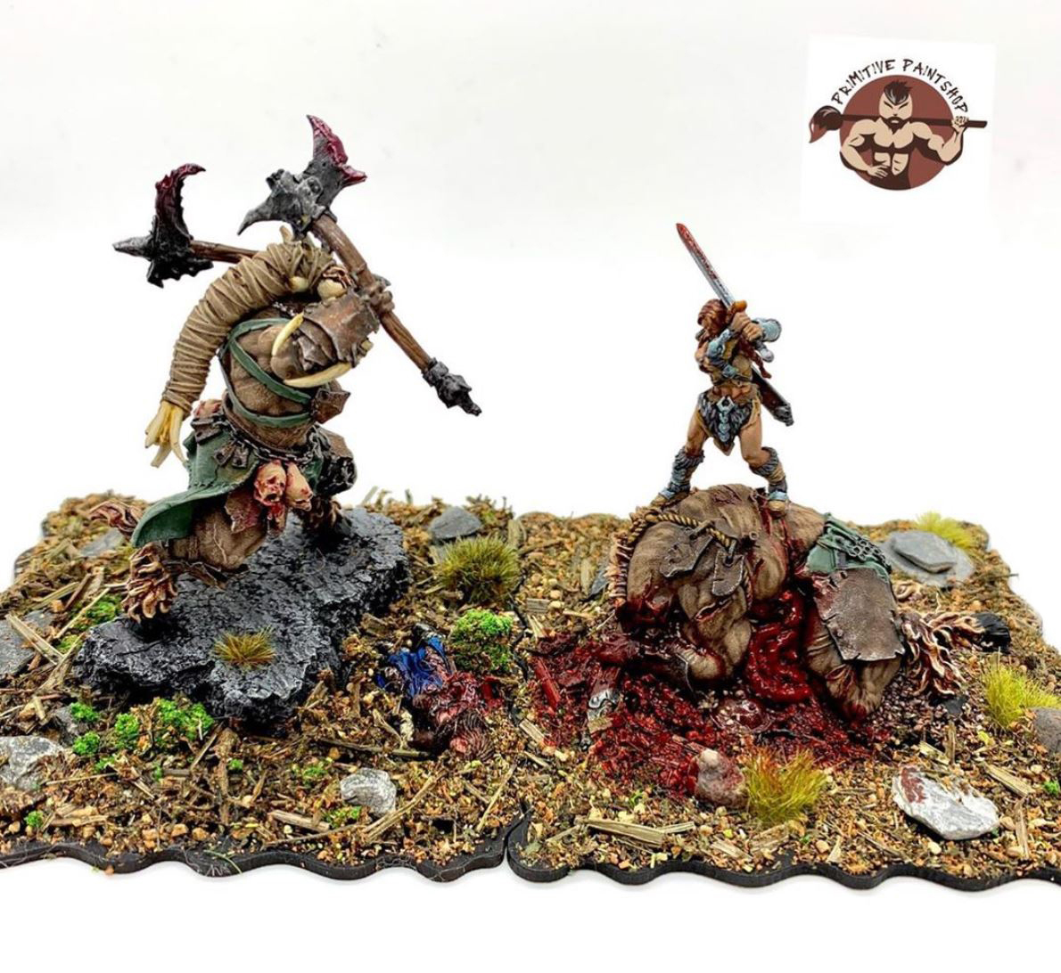 zealot miniatures minotaur asset drop heroines