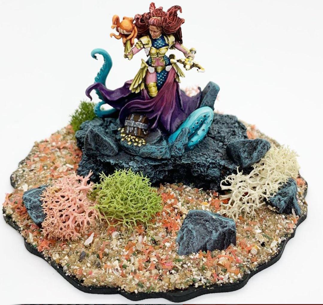 asset drop heroines subscription box miniature painters