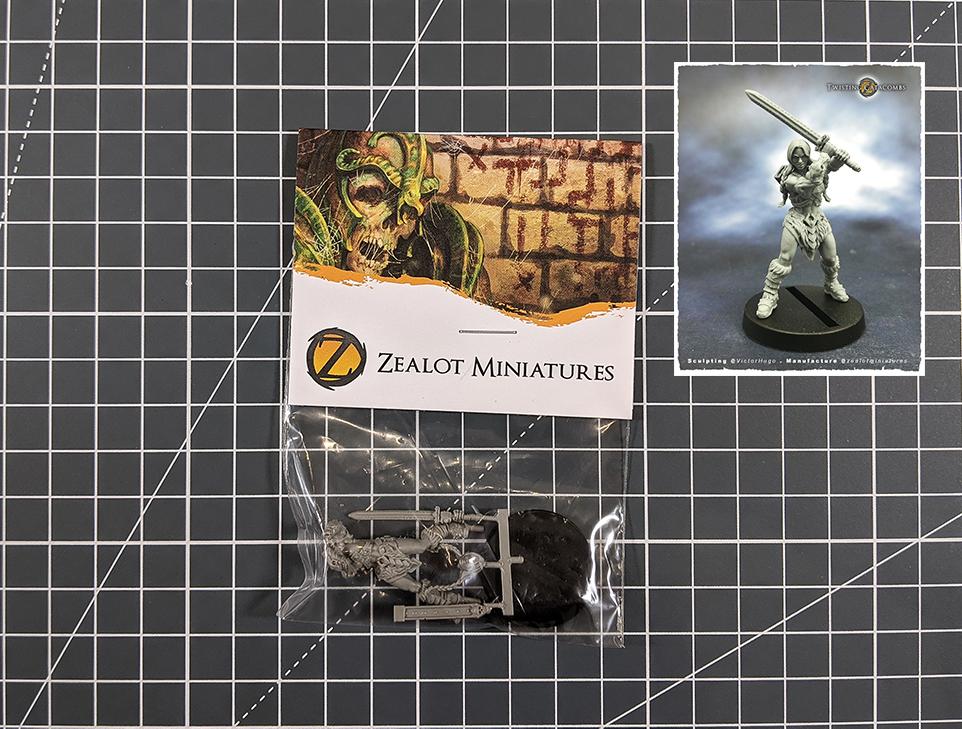 female barbarian zealot miniatures asset drop heroines