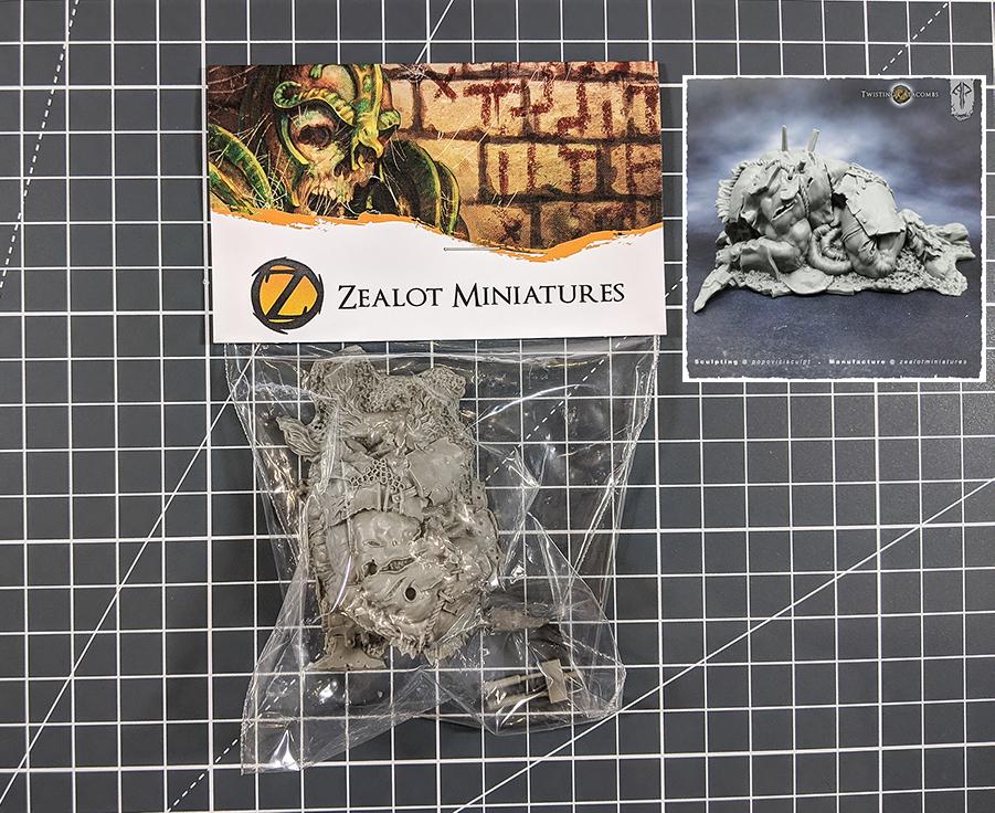 asset drop heroines box, slain minotaur zealot