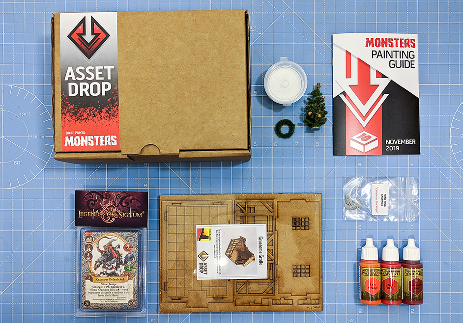nov asset drop monsters box