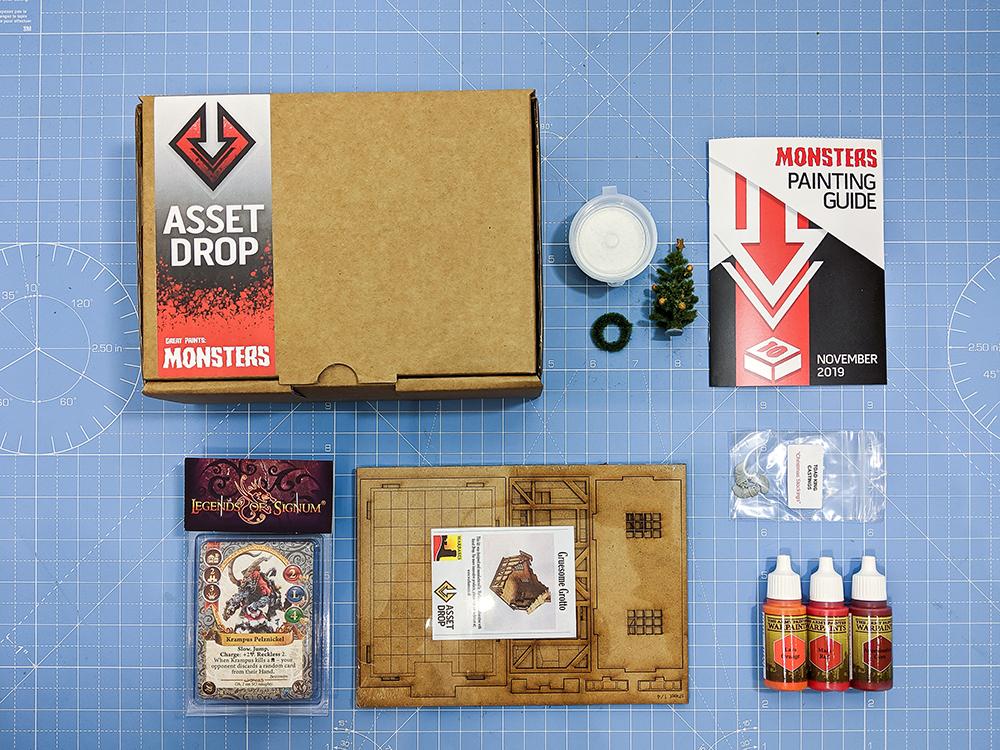 Asset Drop november monsters box