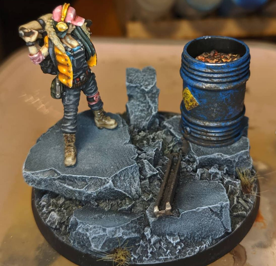 asset drop heroines subscription box miniature painters