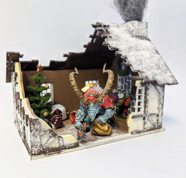 krampus cadwallon miniatures asset drop monsters