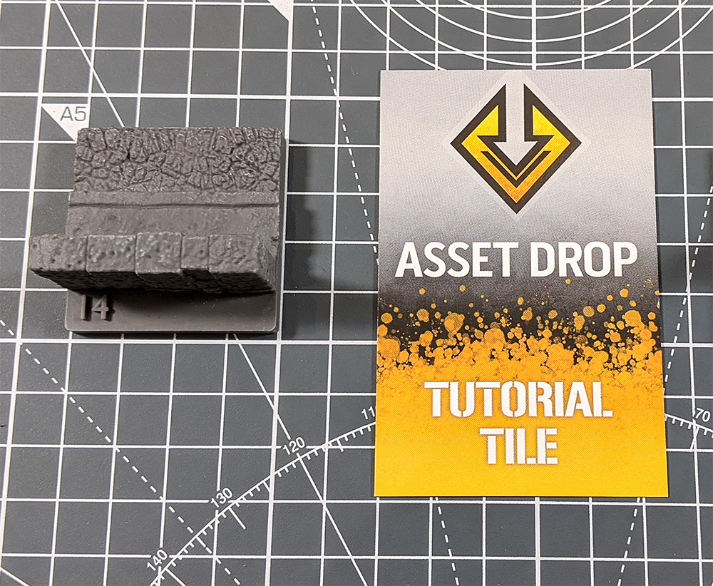 asset drop tutorial tile the road