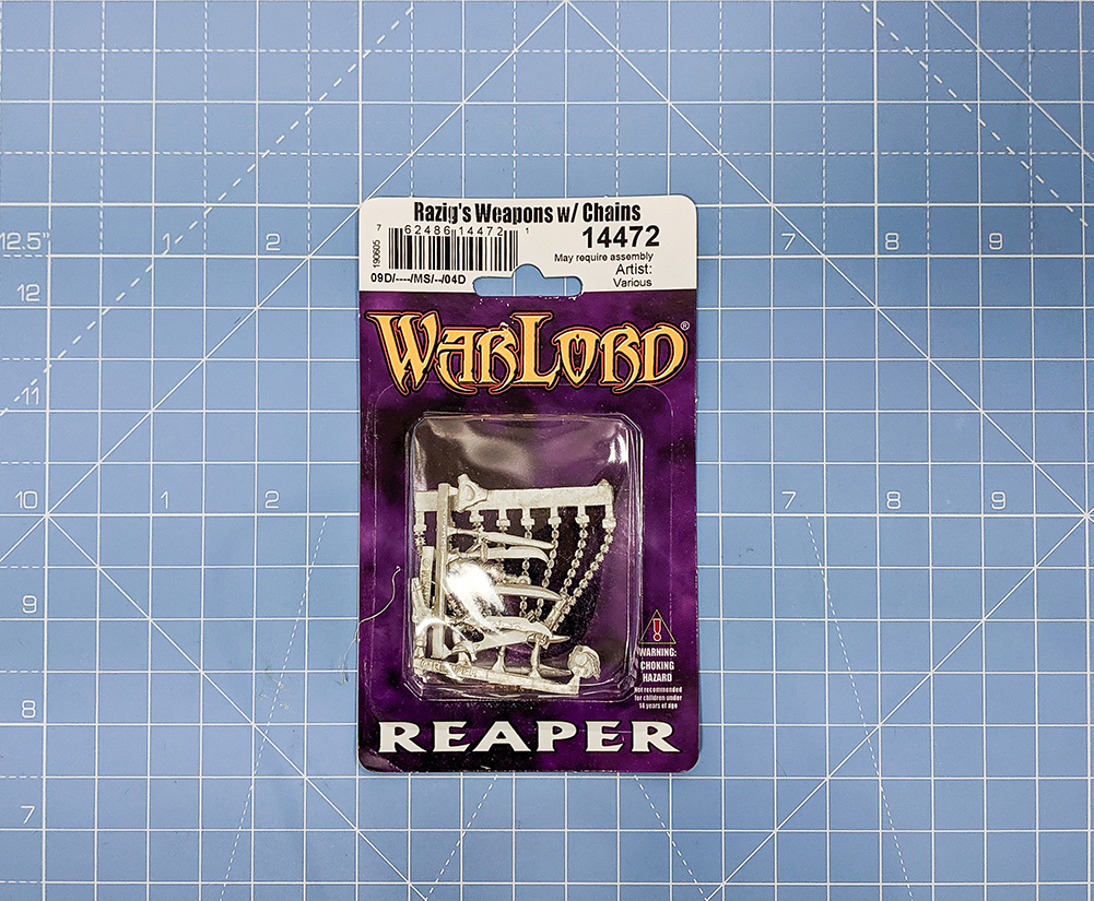 razig weapons reaper miniatures asset drop villains