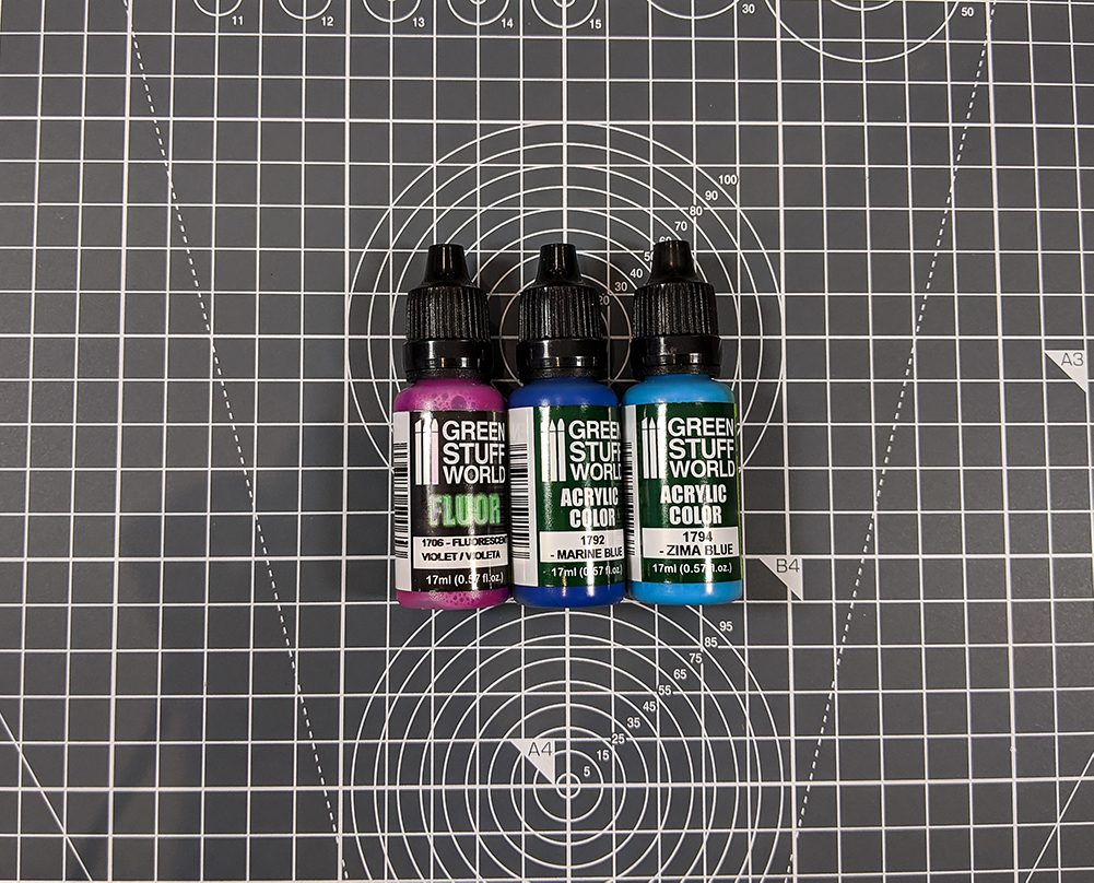 green stuff world paint fluor asset drop heroines box