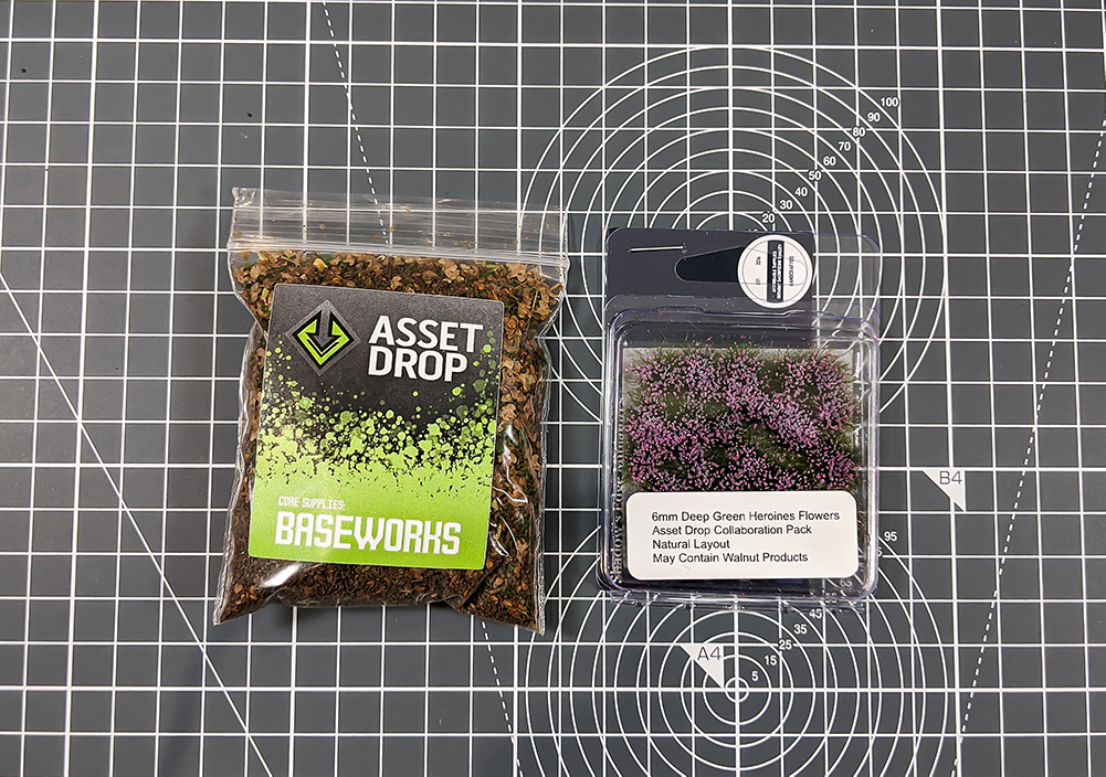 asset drop heroines box, baseworks texture
