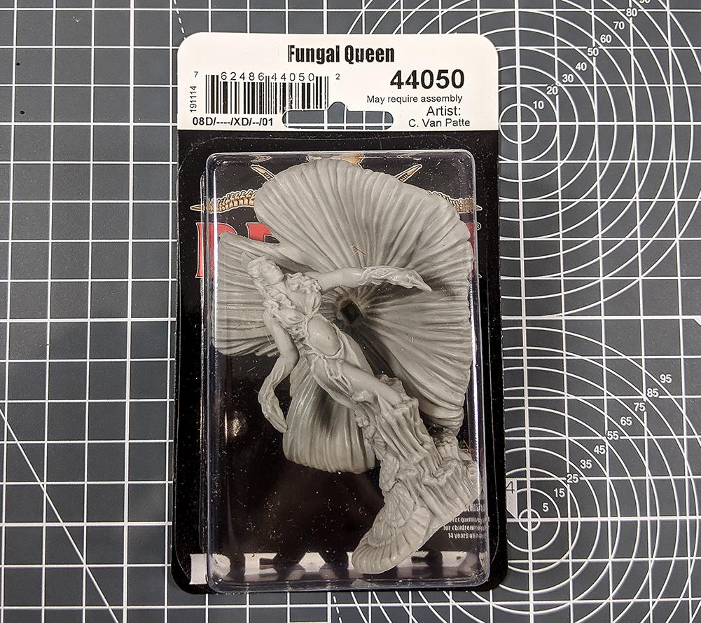 fungal queen reaper miniatures asset drop heroines
