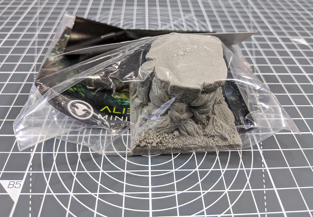 alien lab miniatures asset drop monsters
