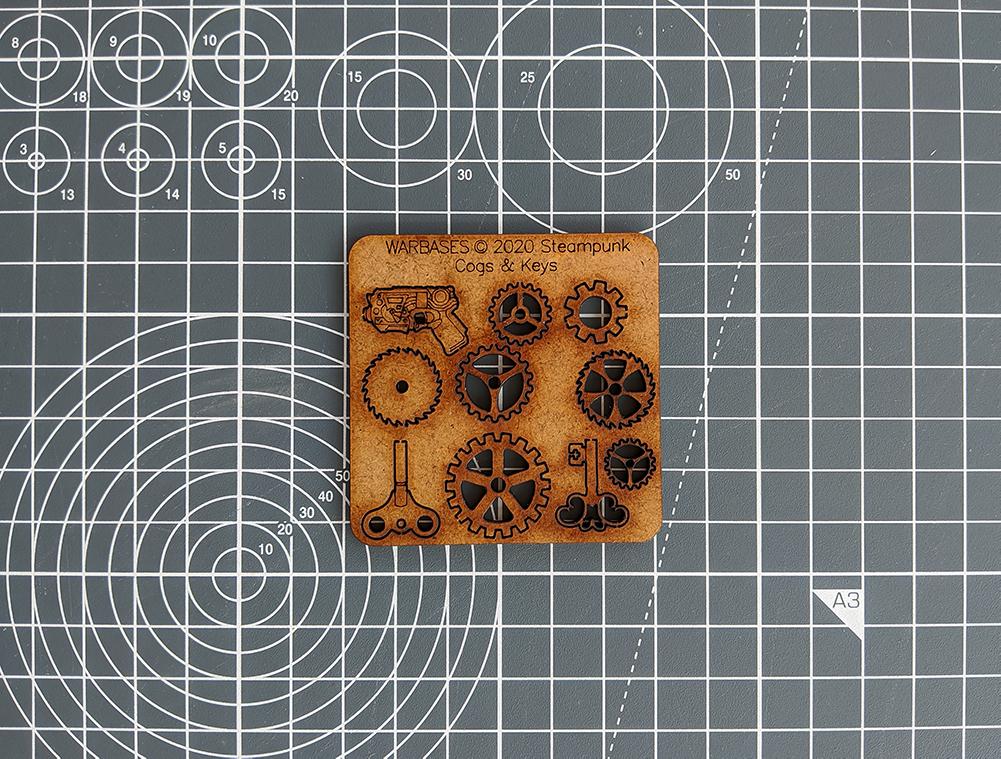 warbases steampunk cogs gears asset drop heroines box