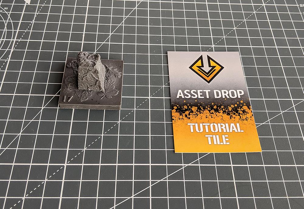asset drop discovery tutorial tile obelisk